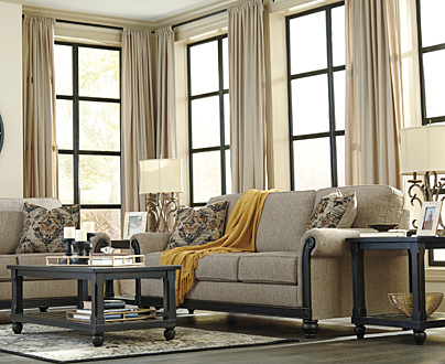 United Bedding Industries Living Room