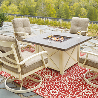 Clieck here for Fire Pit Chat Sets