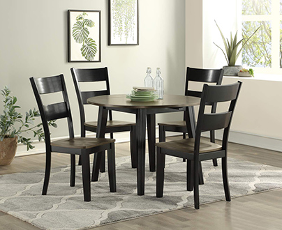 Emerald Home Furnishings Dining Room