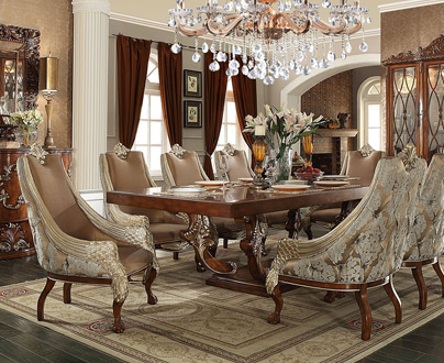 Homey Design Dining Room