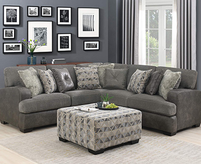 Emerald Home Furnishings Living Room